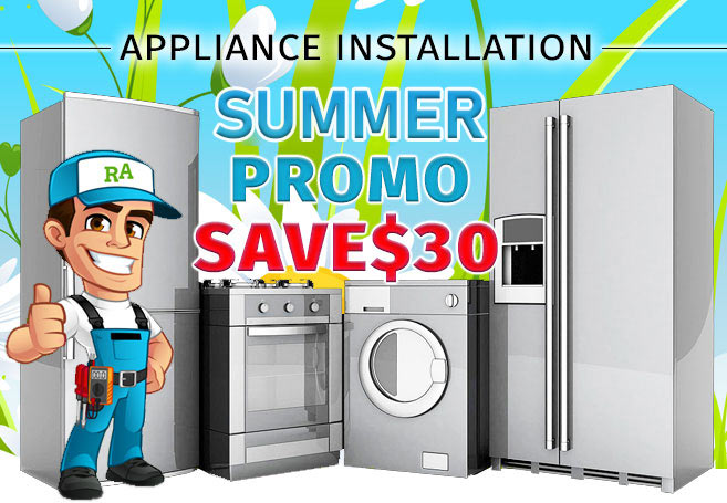 Appliance installation coupon Richmond Hill