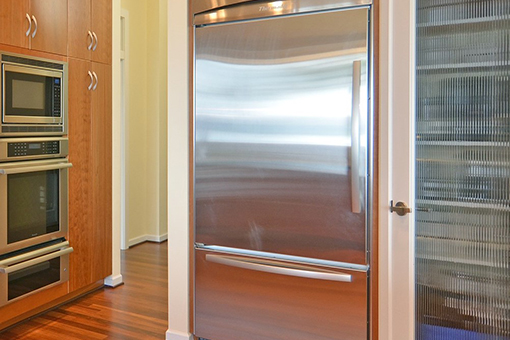 Image of a kitchen fridge