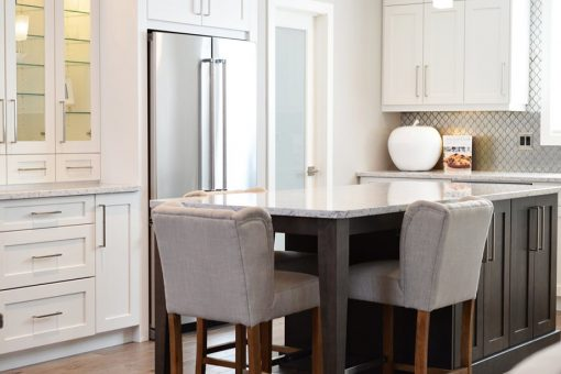 Image of a kitchen island