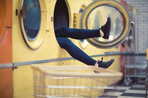 Image of a laundromat