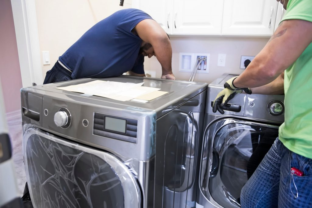washer and dryer installation by RA appliance repair aurora